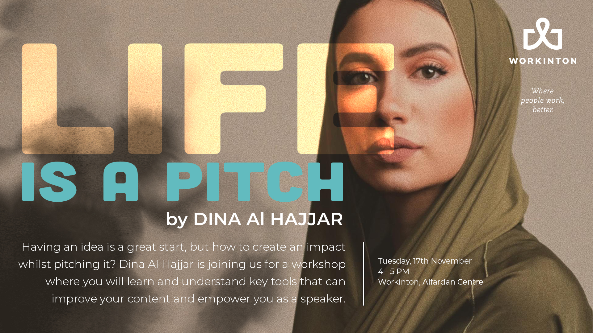 Marketing forum with speaker Dina Al Hajjar