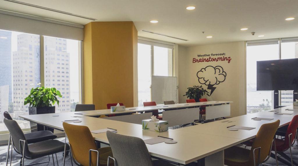 Meeting Room A in Workinton Burj Al Gassar West Bay