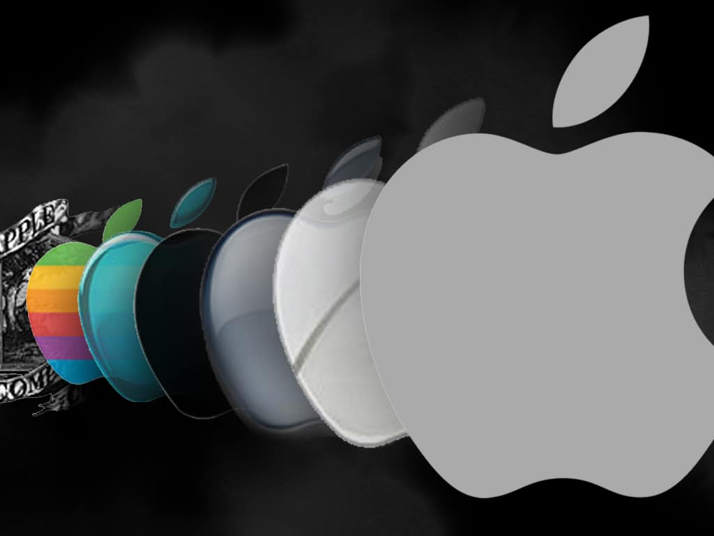 Apple Co. logo evolution